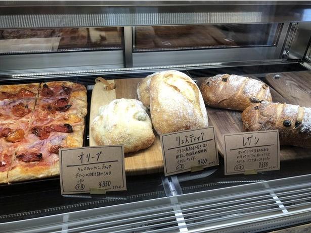 日々の食事に取り入れやすいパンがそろう