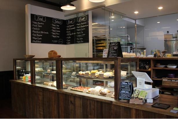 「1110 CAFE/BAKERY」店内