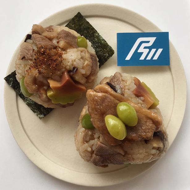 「石川おにぎり」には、鴨の治部煮などを使用