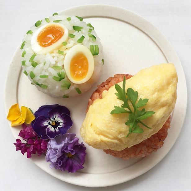 イースターに合わせて作った「フランスうずらの卵のおにぎり」