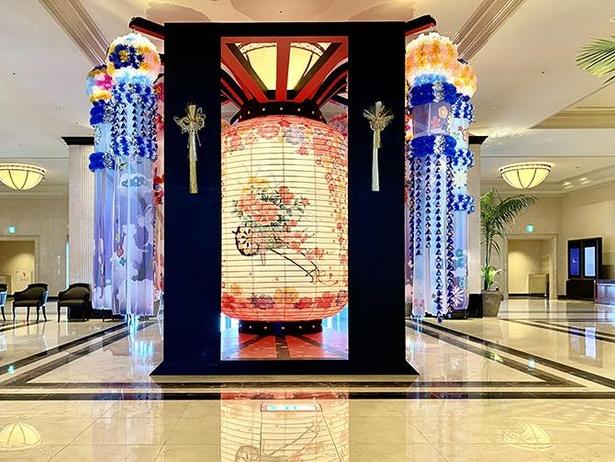 名古屋マリオットアソシアホテル開業20周年に作られた名古屋提灯にも注目!