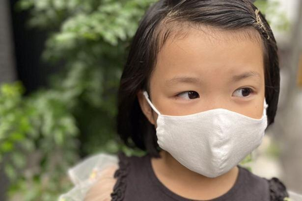 子供用夏マスクで熱中症対策!涼しく汚れにくいコットン素材