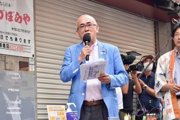 大阪観光局理事長の溝畑宏