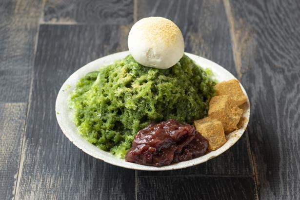 抹茶かき氷1000円(税抜)/CAFÉ ETRANGER NARAD