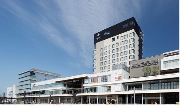 レストラン、マーケットなど全29店舗やホテルが一体になった「キーノ和歌山」