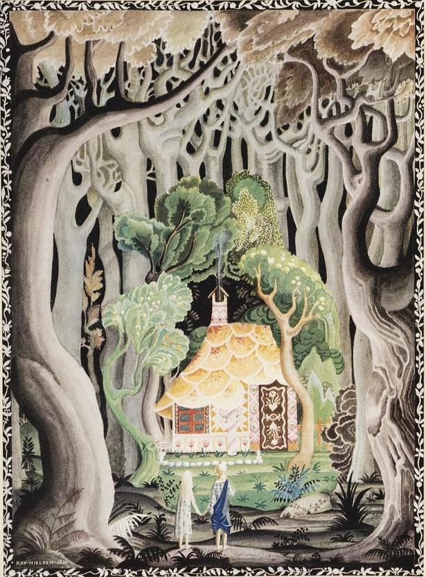 カイ・ニールセン 画『ヘンゼル とグレーテル Hansel and Gretel』1925年刊