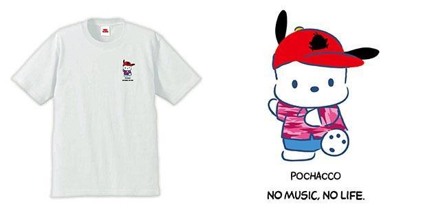 梅田大阪マルビル店とオンラインではポチャッコの限定Tシャツを販売