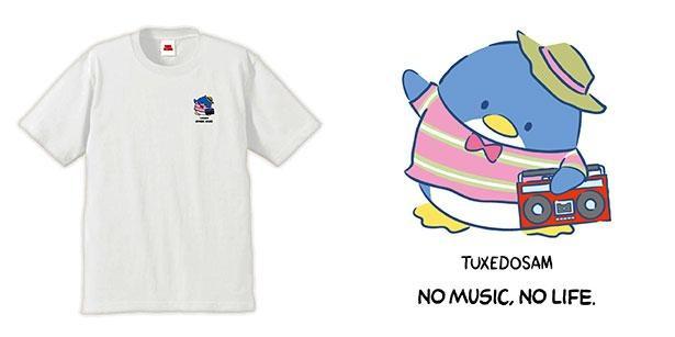 新宿店とオンラインで取り扱うタキシードサムの限定Tシャツ