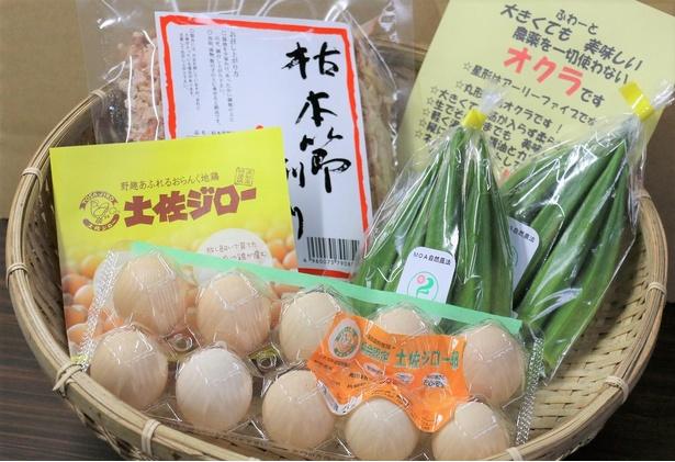 【写真】濃厚な味わいが特徴の「土佐ジロー」で卵かけご飯が楽しめる朝食セット