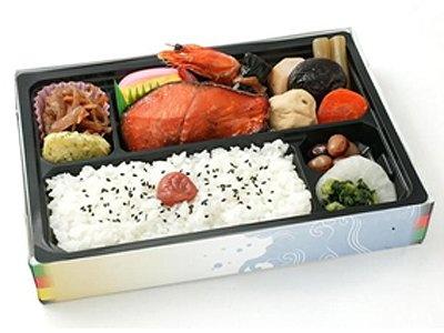 第6位は「幕之内弁当」(1000円)。メインの銀鮭はコクのある醤油だれを使用し漬け焼きに