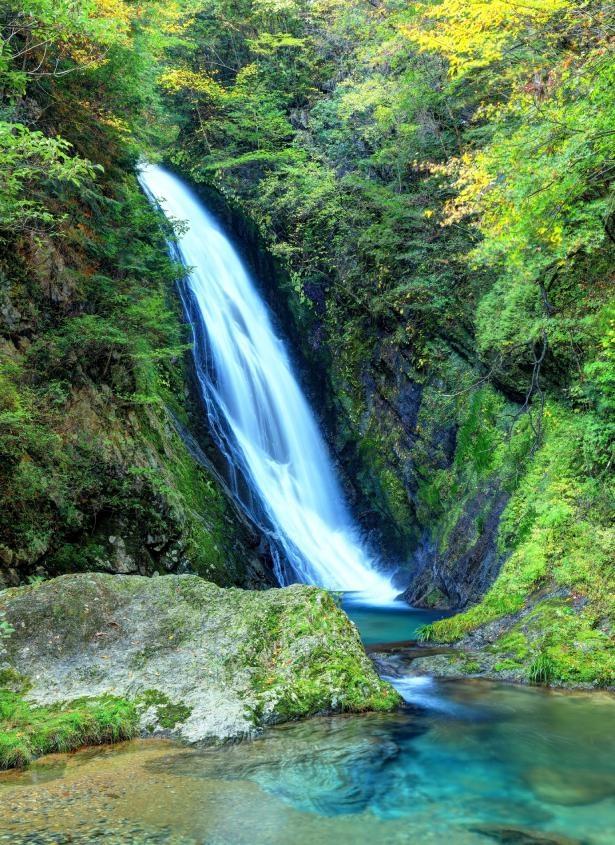 横谷峡 四つの滝(岐阜県下呂市)