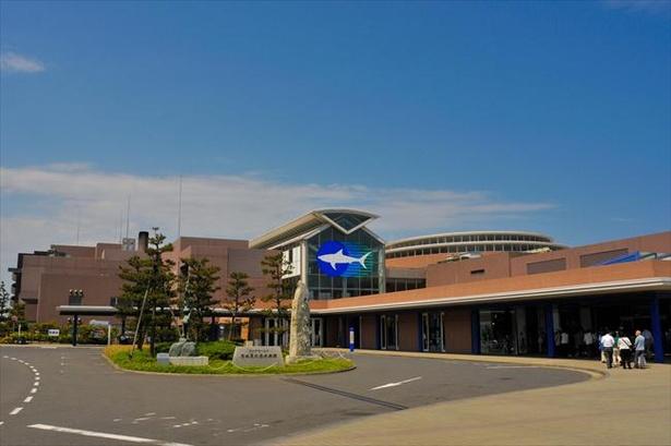 アクアワールド茨城県大洗水族館の外観