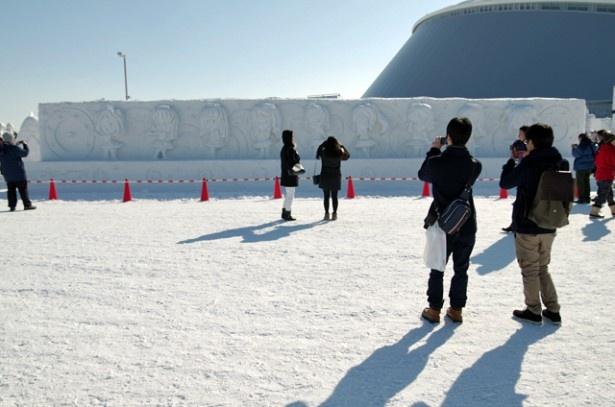 展示は2月12日(日)まで。さっぽろ雪まつりに遊びに行くならぜひ見に行こう