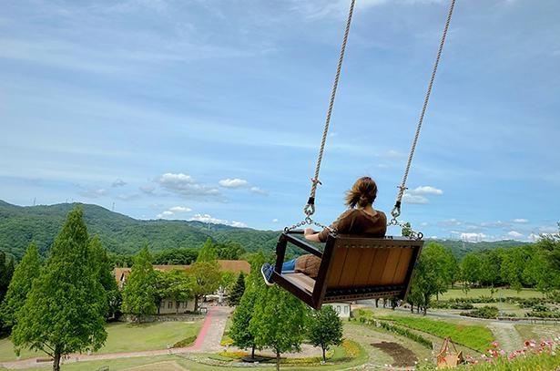 【写真】園内には「アルプスの少女ハイジ」のオープニングを再現した日本初の公認ブランコも