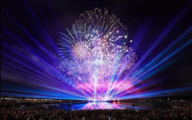九州最大規模を誇る「九州一大花火」は一見の価値あり
