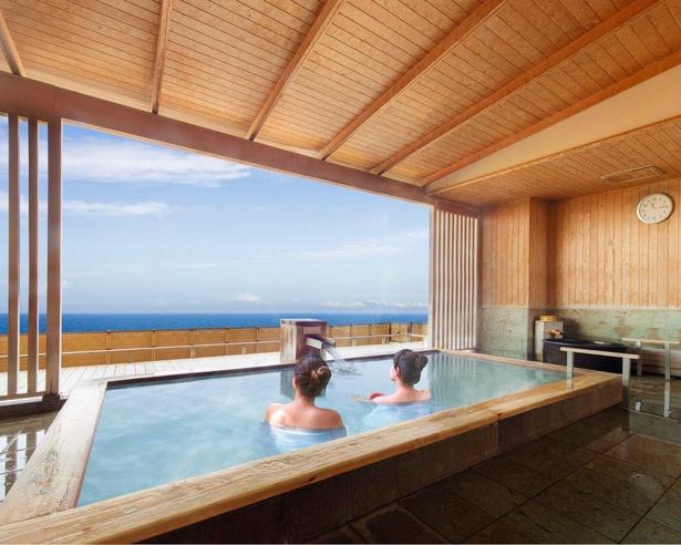【写真】日本海を一望できる温泉が贅沢。リニューアルオープンした「大江戸温泉物語 汐美荘」をチェック