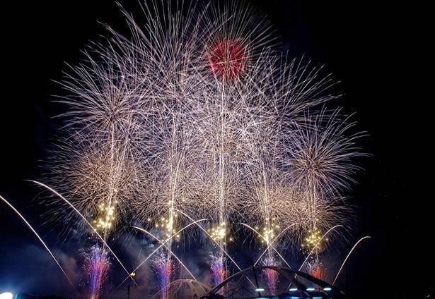【写真】花火愛好家からも高い評価を集める「豊田おいでんまつり花火大会」の美麗写真