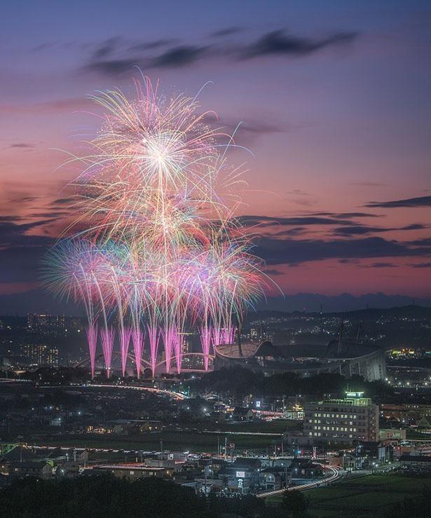 豊田おいでんまつり花火大会イメージ1