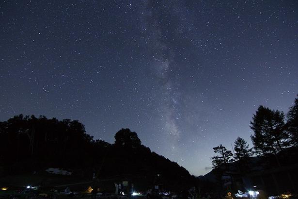 阿智村の代名詞の1つ、星空も見逃せない /「富士見台高原ロープウェイ ヘブンスそのはら」