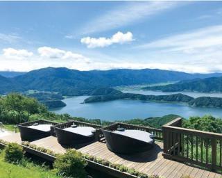三方五湖を天空テラスで一望!温泉も楽しむ福井の絶景ドライブコース