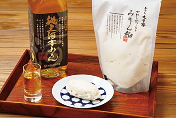原材料にこだわった九重味淋の本みりんとみりん粕を使用 /「Restaurant&Cafe K庵」