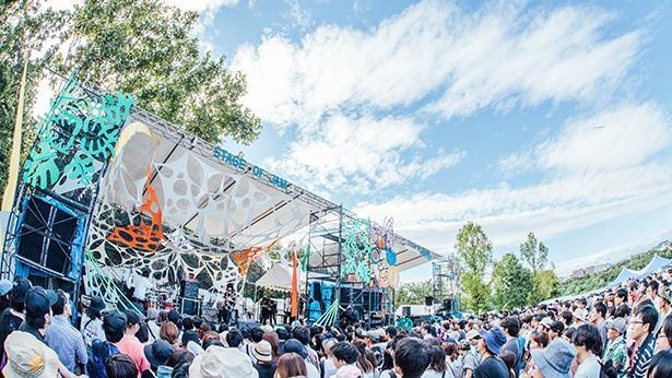 兵庫県伊丹市の昆陽池公園で2日間にわたって開催される、無料ローカル野外音楽フェス「伊丹グリーンジャム」