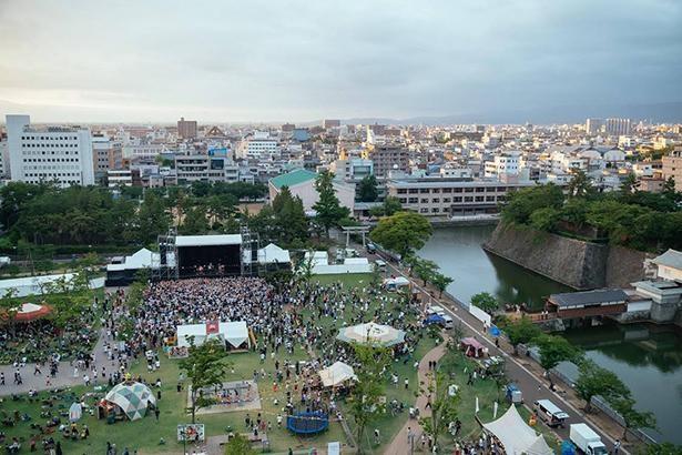 約6億4000万円にも上る経済効果を生んだと言われている、福井発のローカルフェス「ワンパークフェスティバル」