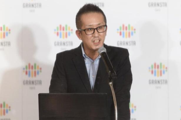 今回のプロジェクトの解説をする、株式会社鉄道会館 営業本部 マーケット開発グループ 新井裕之さん