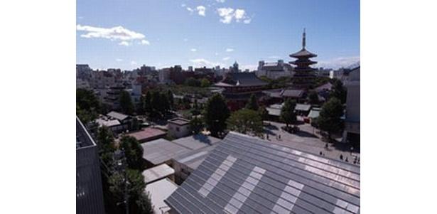 RFには東京スカイツリーまで見渡せる展望台「浅草展望台」
