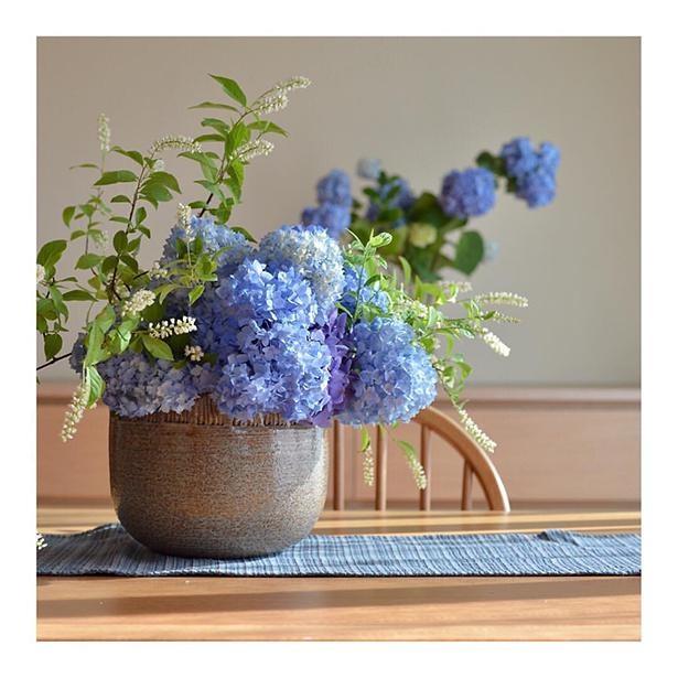 紫陽花と姫リョウブの作品は、特に大きな反響を呼んだ