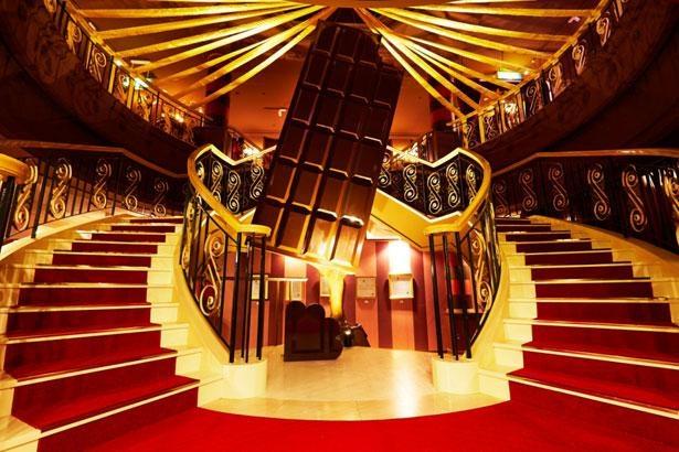 チョコレートにまつわる楽しい仕掛けがいっぱい!「ショコラ伯爵の館」
