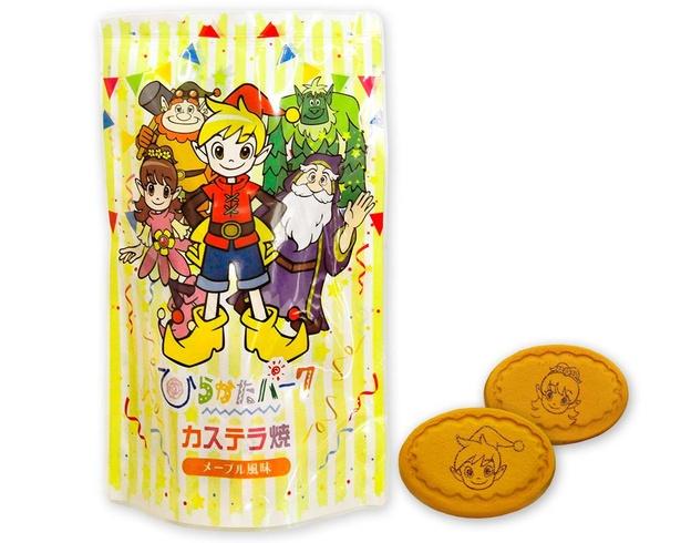 オリジナルの「カステラ焼き(メープル風味)」(540円)