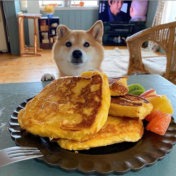 ふわふわのフレンチトースト