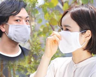 通気性抜群のムレにくい夏マスクに、抗菌効果を加えた新商品登場