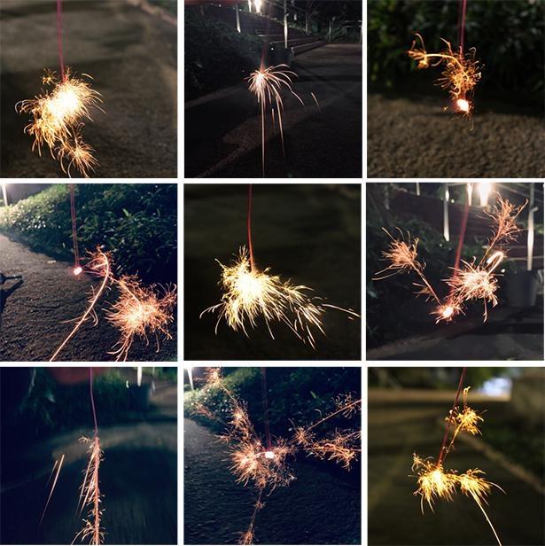 【写真】それぞれの夏の思い出の画像を投稿し、みんなで大きな花火を打ち上げる企画