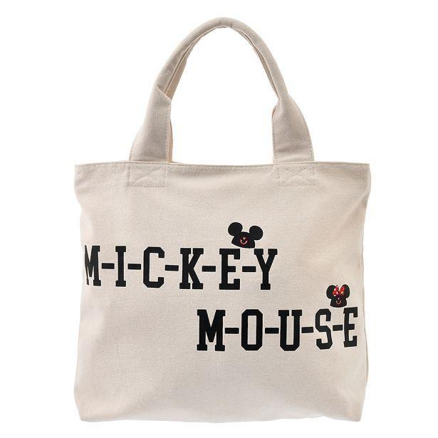 シンプルデザインの「トートバッグ<『ミッキーマウス・クラブ』>」