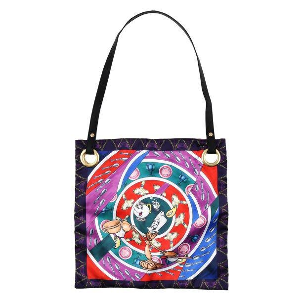 【写真】芸術的…!思わず唸る『美女と野獣』をモチーフにしたスカーフ風アートバッグ
