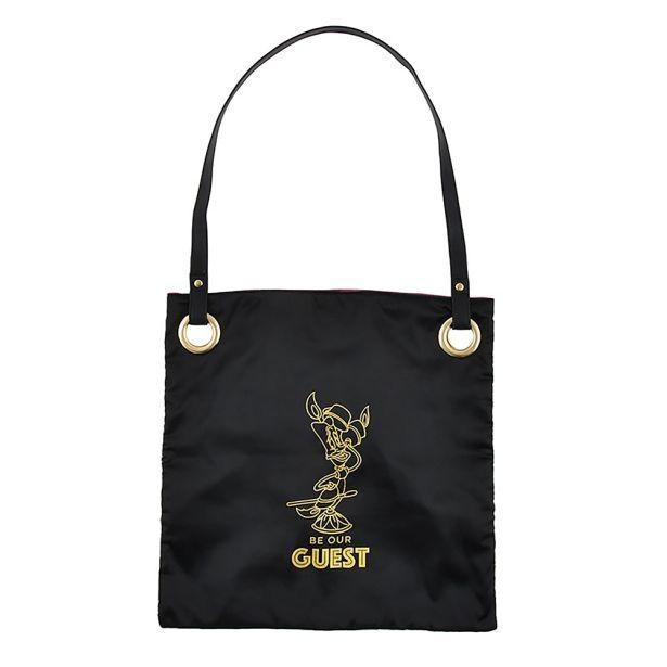 ルミエールのロゴが入った「トートバッグ<『美女と野獣』>」