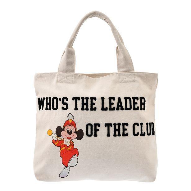 ミッキーファンならよく知っている、あの伝説の番組をテーマにデザイン!「トートバッグ<『ミッキーマウス・クラブ』>」