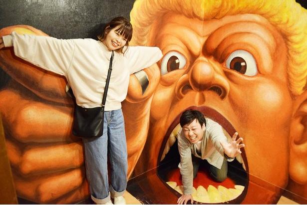 不思議で、怖くて、かわいくて、笑えるトリックアートがいっぱいの「トリックアートハウス」