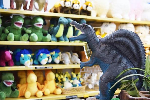 大人気の恐竜グッズはかわいいぬいぐるみからリアルなフィギュアまで種類も豊富