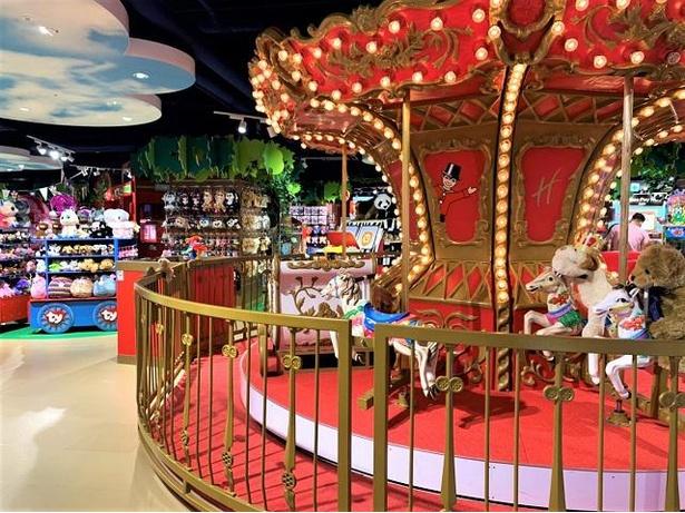 【写真】九州では唯一!「ハムリーズ」には、子供が安心して遊べるインドアプレイグラウンドやメリーゴーランドも