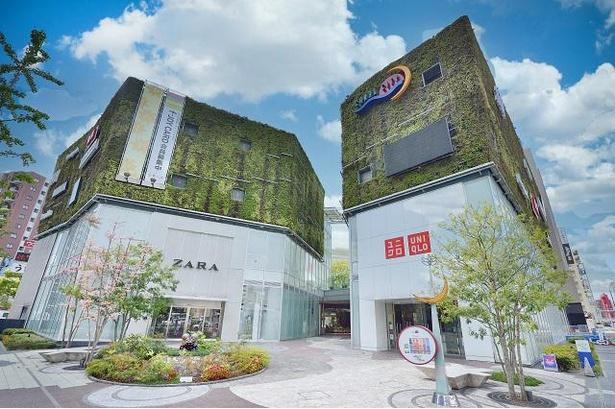 人気のショップが250店以上も集っているキャナルシティ博多