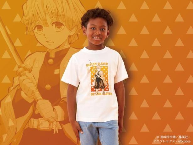 人気キャラクターを描いたTシャツが豊富にそろう