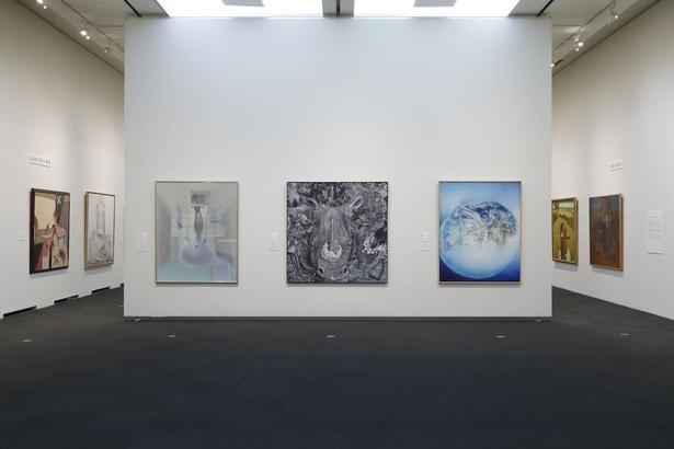 【写真】歴代の上野の森美術館大賞展の受賞作品をもとに構成した企画展