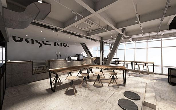 高品質な自社焙煎のコーヒーと、立体音響をテーマにした新感覚のカフェ / base lab. 名古屋テレビ塔店