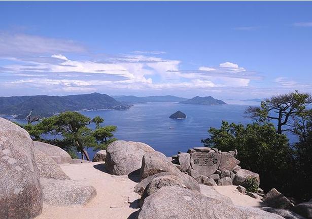 獅子岩展望台からの眺望