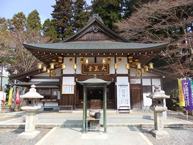 日本の大黒天信仰の発祥の地といわれる大黒堂