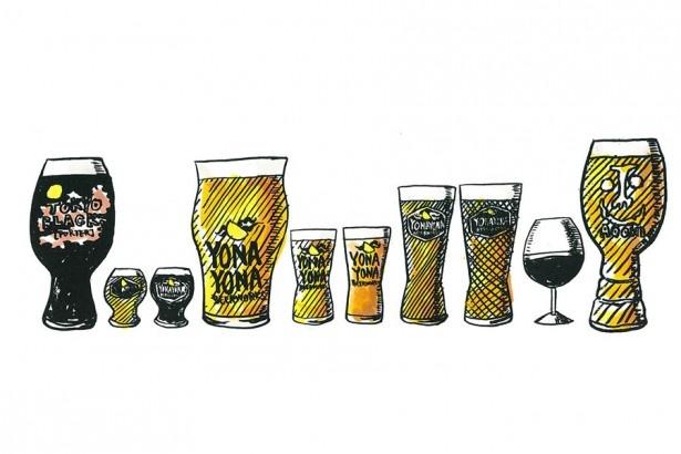 定番から限定商品まで!クラフトビールが勢ぞろい