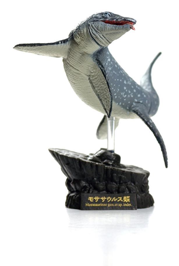 モササウルスのフィギュアが人気を集めている